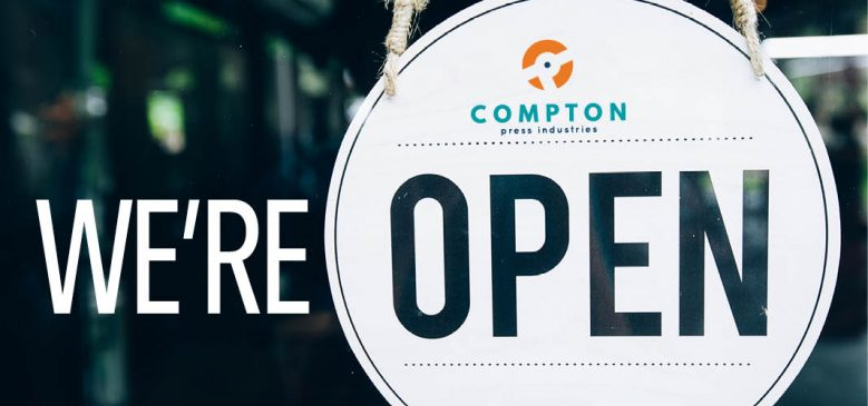 Compton Press Is Open
